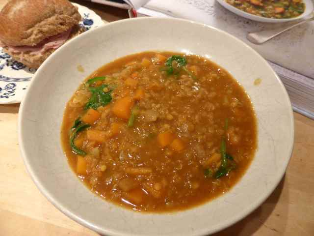 curried lentil soup