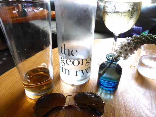 drinks at george in rye