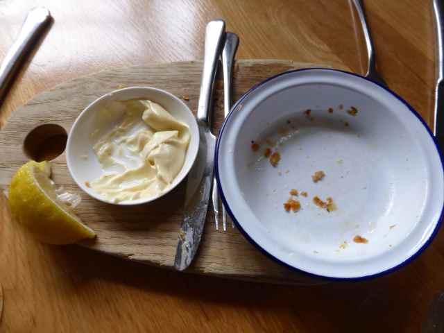 empty squid plate