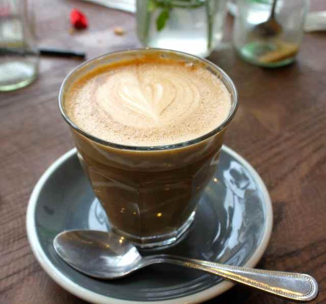 Front Room latte
