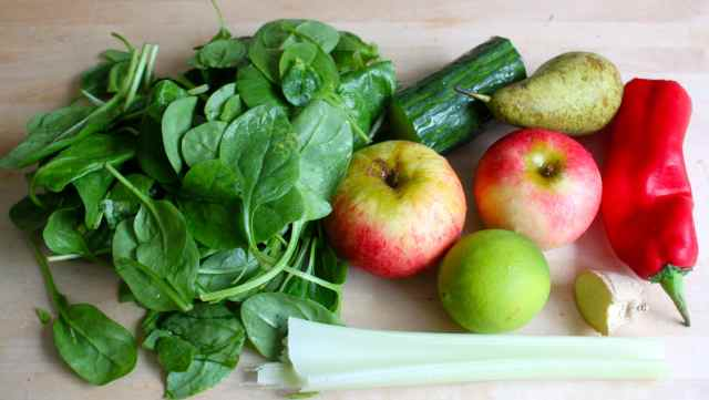 fruit and veg for juice