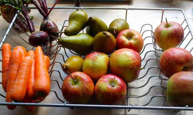 fruits and veg for day 5