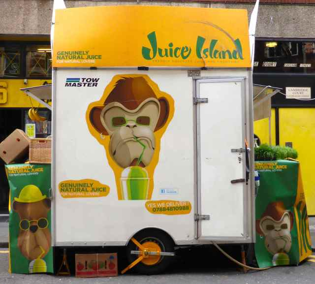 Juice Island wagon