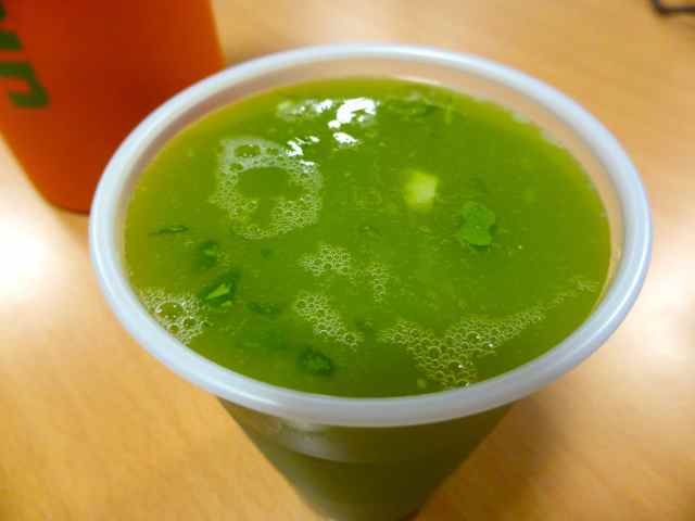 lumpy juice