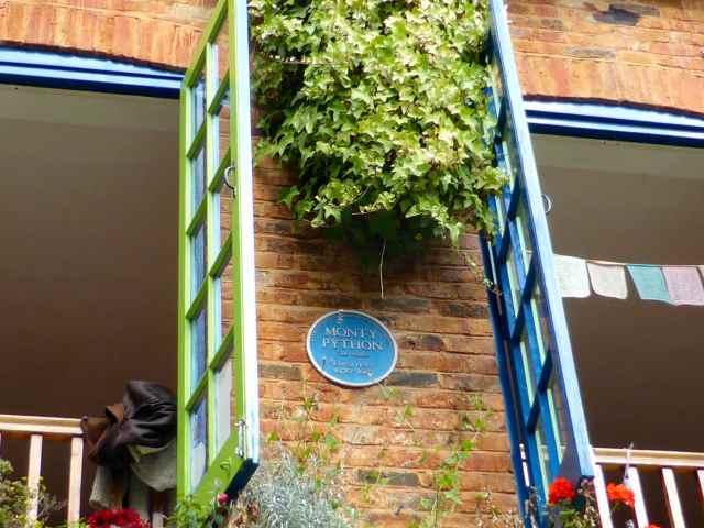 Monty Python plaque