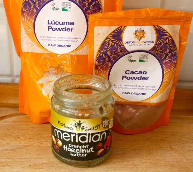 powder and nut butter