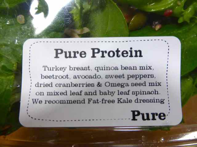 Pure Protein ingredient list