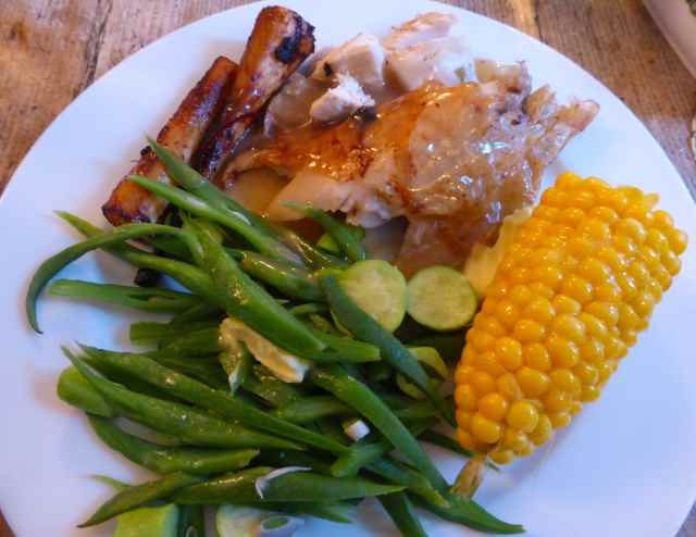 roast chicken dinner 21-9