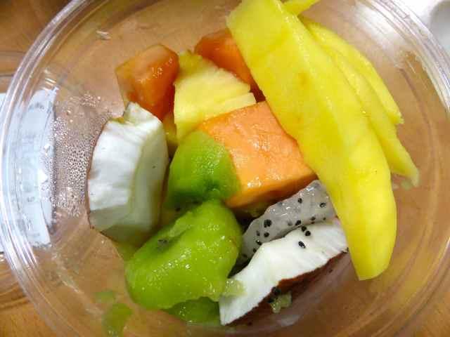 tropical fruit pot