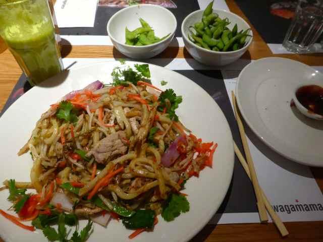 Wagamama Udon noodles