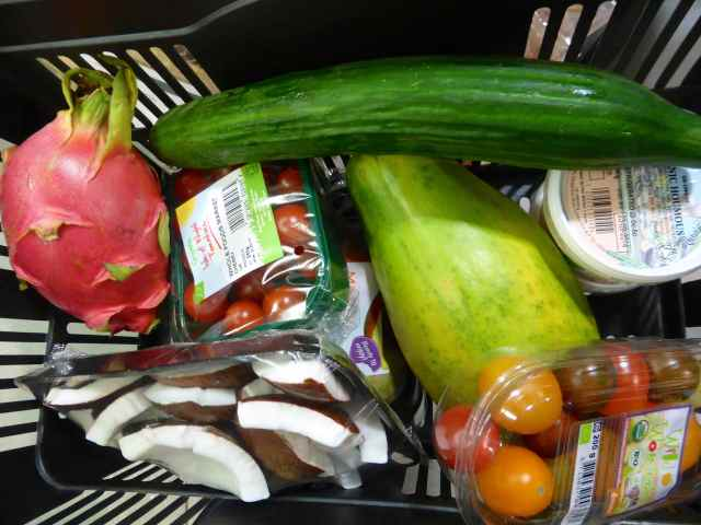 Wholefoods shopping basket