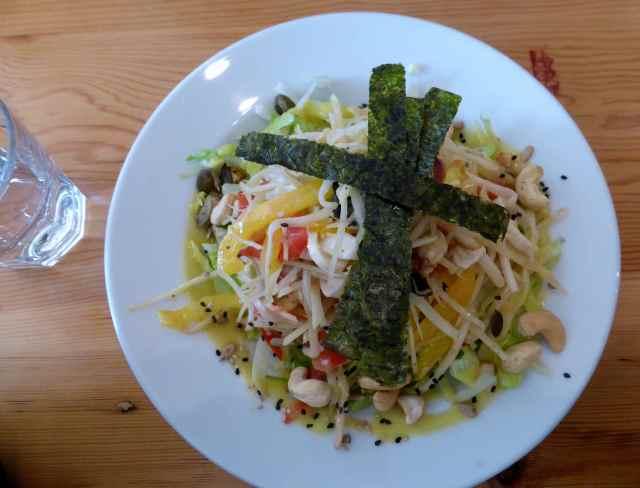Wild Food tropical salad 2