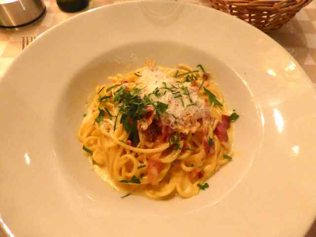 Cafe Milano carbonara
