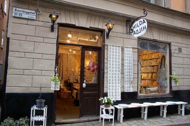 Hilda fabric shop