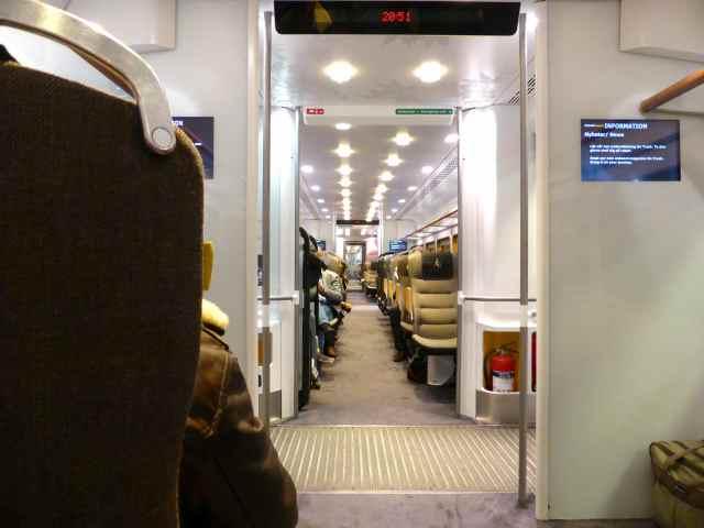 inside Arlande Express