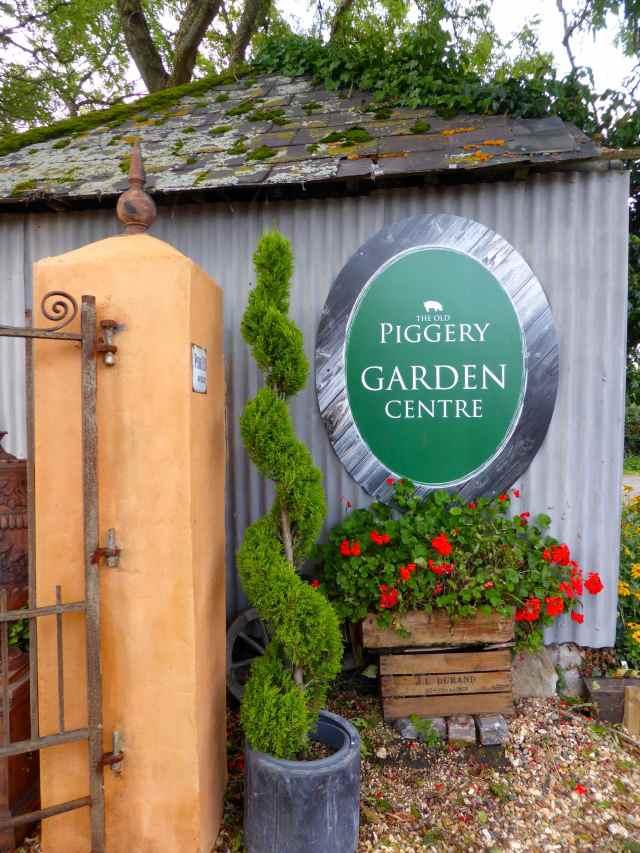 Piggery garden centre