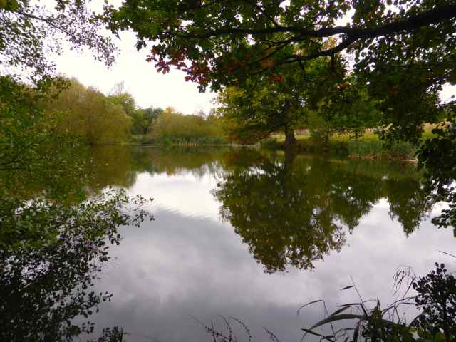 Sissinghurst lake