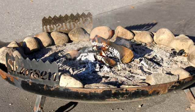 Skansen wood burner