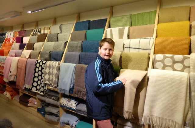 Swedish blankets