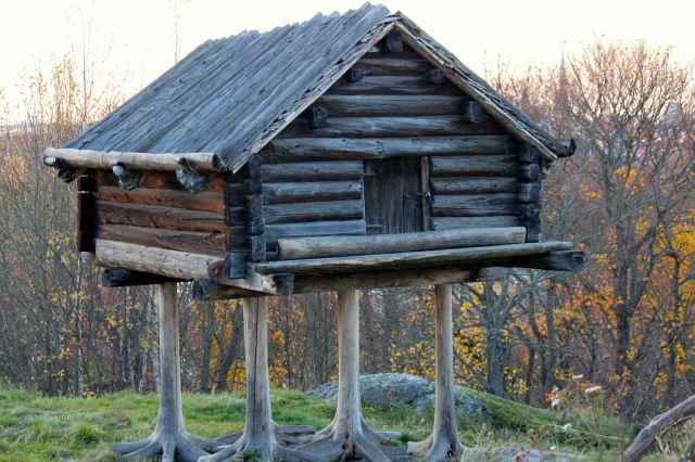 timber dwelling