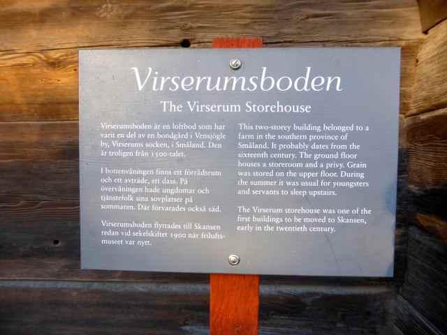 Virserum storehouse