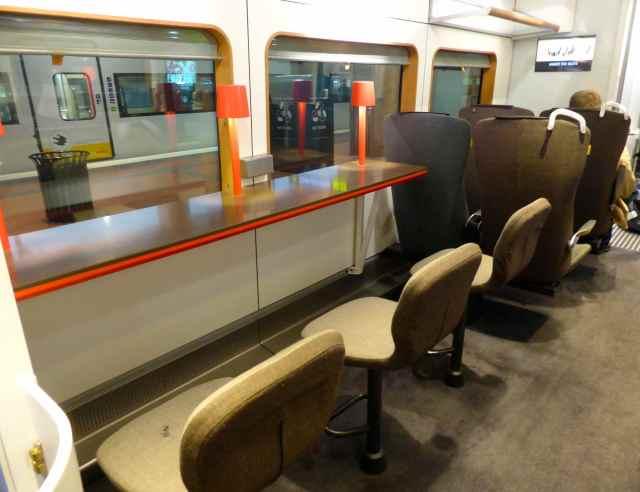Arlanda Express table