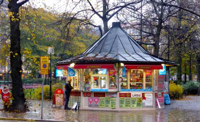 kiosk in Sodermalm