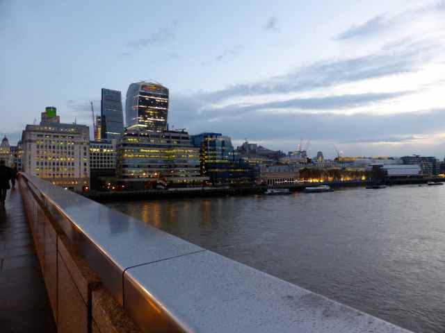 London Bridge early