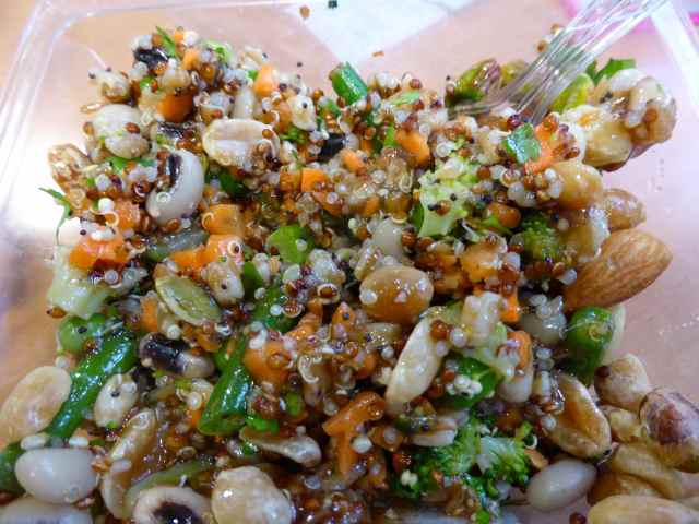 Nutty Veg Salad