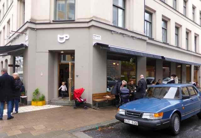 outside Cafe Pascal