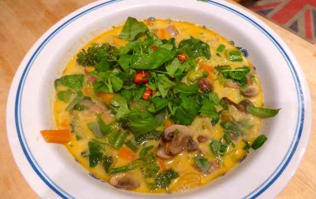 Tom Yum veggies 2