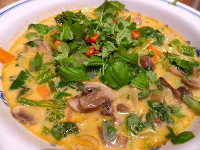 Tom Yum veggies