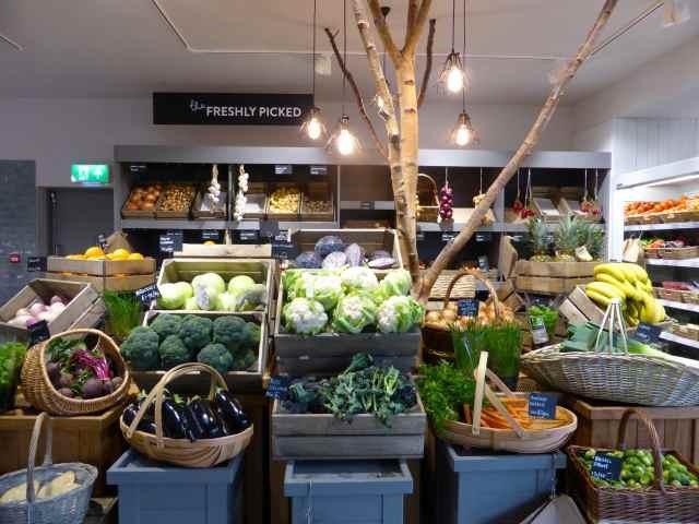 veggies at Hartley