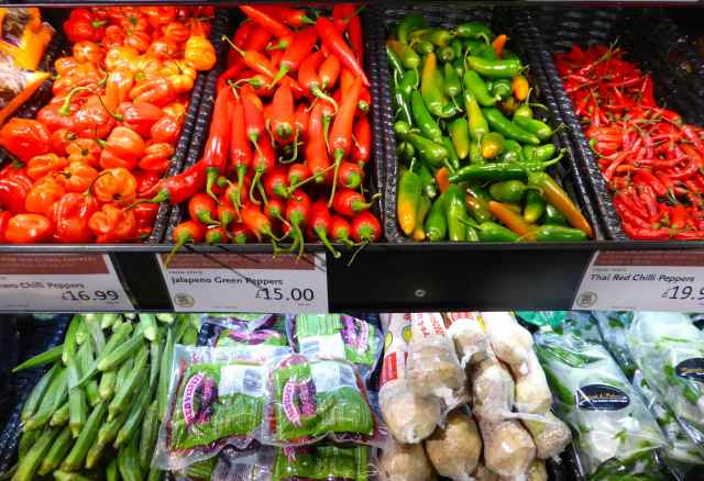 Wholefoods chillies