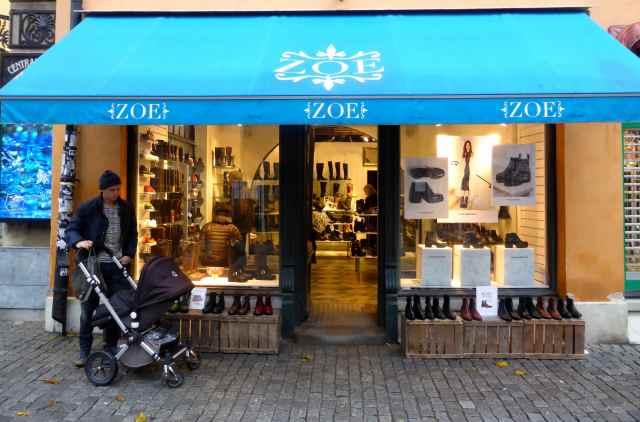Zoe shoe shop