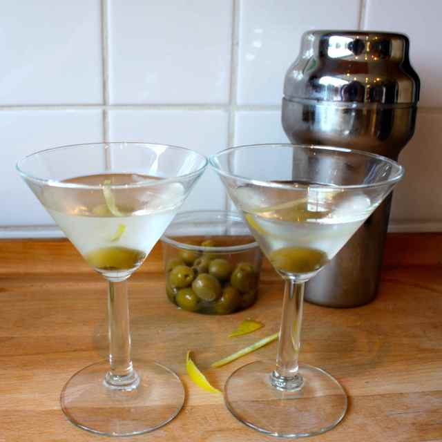 2 martinis