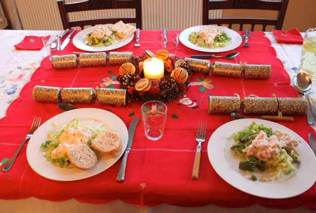 Christmas Day starters