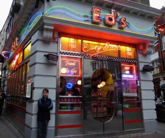 Ed's Diner in SoHo