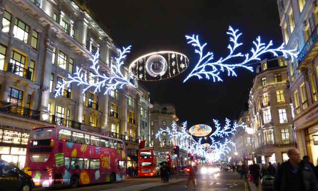Regent St lights