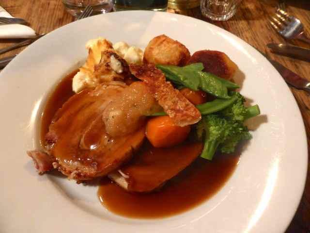 roat pork Goudhurst Inn