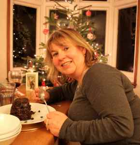 Sally's Christmas pudding