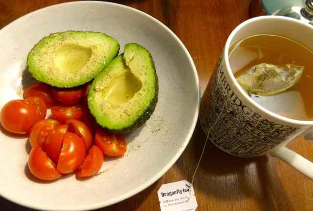 avocado green tea