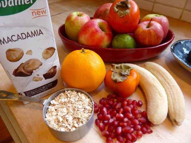 breakfast ingredients 9-1-15