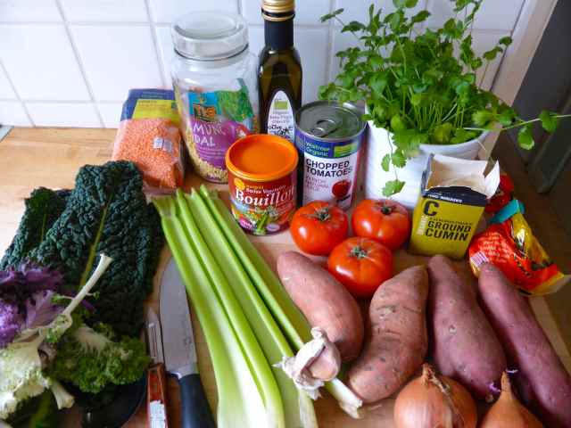 cooking ingredients