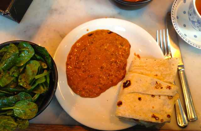 Dishoom lunch
