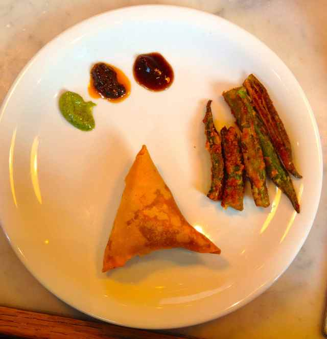 Dishoom samosa