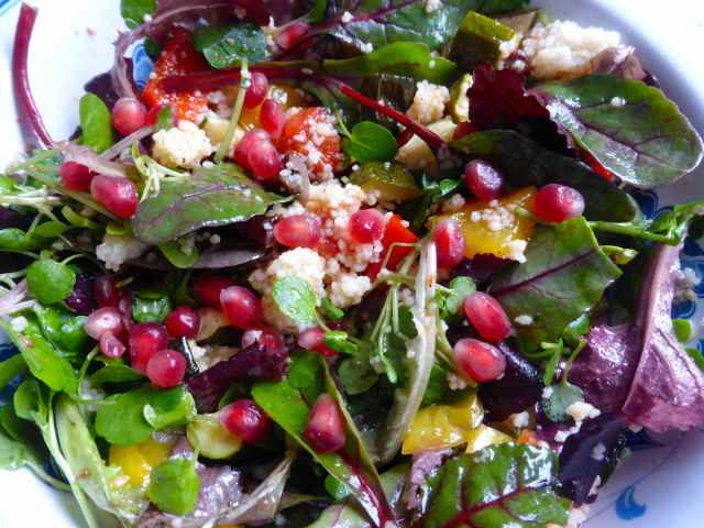 pomegranate salad 1