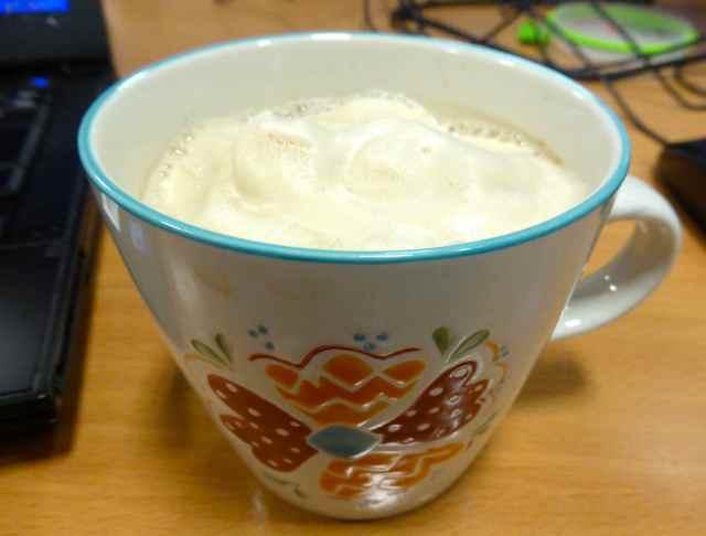 soya latte