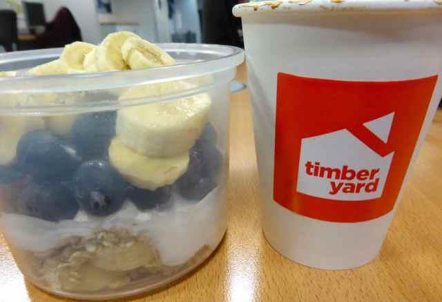 Timberyard and breakfast