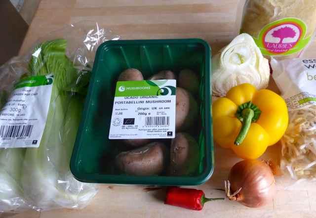 veg from fridge